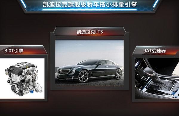 据了解,凯迪拉克旗舰车型lts在动力上将搭载3.0t小排量增压引高清图片