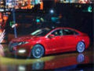林肯两款新车上市 MKZ起售价31.58万元