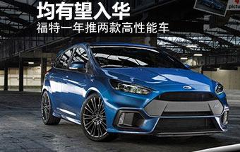 福特一年推两款高性能车 将有望入华-图