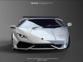 不对称式设计 DMC发布改装Huracan预览图
