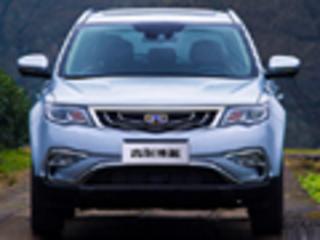 吉利紧凑SUV博越-搭1.8T引擎 动力超途观