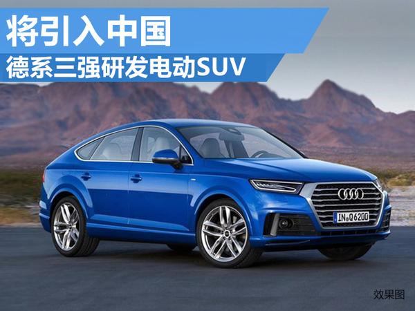 德系三强推纯电动SUV-奔驰 宝马 奥迪研发电动SUV 将引入中国高清图片