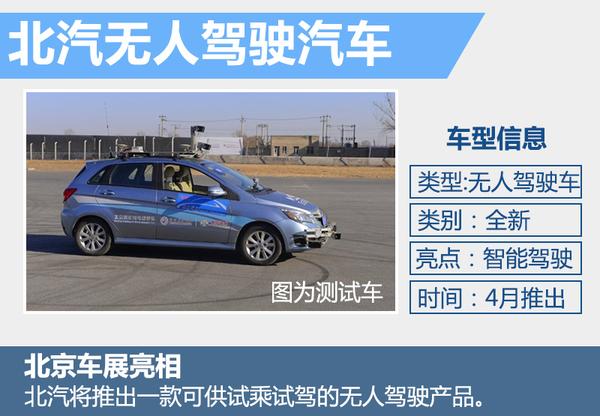 北汽研发智能技术 首款无人驾驶车4月将亮相(图4)