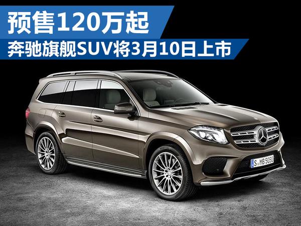 奔驰旗舰SUV将3月10日上市 预计售价120万起(图1)