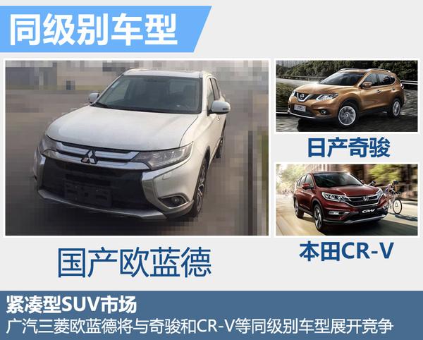 广汽三菱7座 小型 SUV将上市 售价下调
