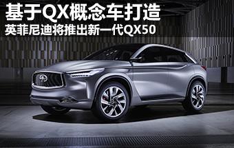 英菲尼迪将推全新QX50 基于QX概念车打造