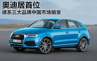 德系三大品牌-中国市场销量 奥迪居首位