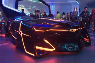 窥探未来出行 雪佛兰3款概念车全球首秀