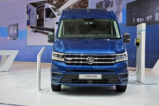 大众纯电动的Van! e-Crafter概念车发布