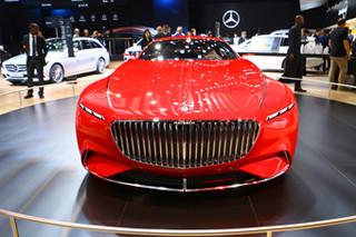 图解梅赛德斯-迈巴赫6概念车 豪门新贵