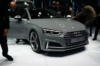 内外革新 巴黎车展实拍奥迪S5 Sportback