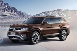 """上汽大众""""大型""""SUV发布 首搭2.5T发动机"""