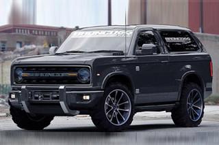 福特推新一代烈马SUV 采用全铝车身架构
