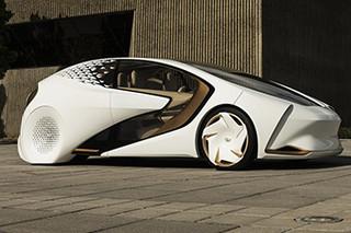 CES上的黑科技 丰田发布Concept i概念车