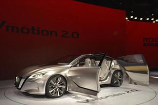 2017年北美车展: 日产Vmotion 2.0概念车