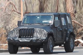 Jeep推新一代牧马人 洛杉矶车展正式亮相
