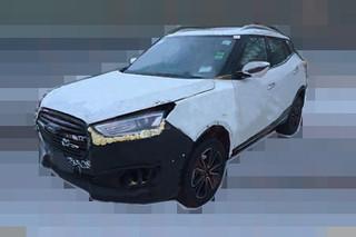 众泰全新小SUV谍照 搭1.5T引擎/年内上市
