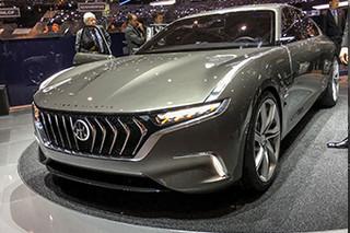 电驱动豪华C级车-正道H600发布 油耗仅5升