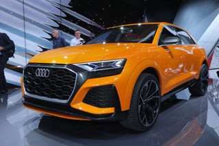 2017年日内瓦车展:奥迪Q8 Sport概念车