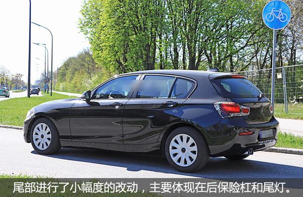 新款宝马1系两厢版谍照 增驾驶辅助系统