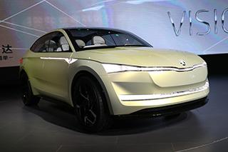 它成了艺术品 斯柯达纯电动概念车首发