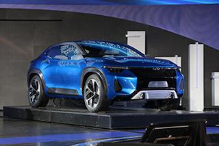 当SUV遇上电动化 实拍奇瑞轿跑概念SUV