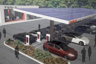 特斯拉计划增设超级充电桩 数量翻一倍