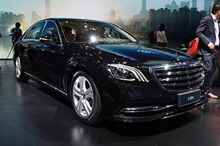 新款奔驰S级9月将上市 动力配置均升级