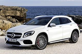 新款AMG GLA 45下月到店 57.9万起售