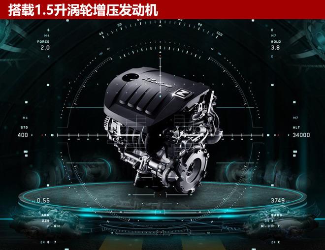 动力方面,新车全系搭载1.5升涡轮增压发动机,其最大功率110千瓦,峰值扭矩195牛米。传动系统与之匹配的则是CVT无极变速箱和5速手动变速箱。实测百公里综合油耗低至7.4升。