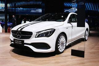 奔驰CLA限量版于14日上市 造型更加激进