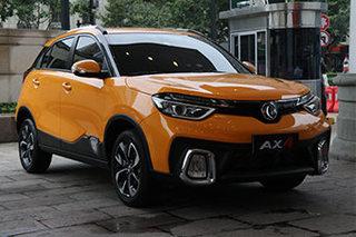 东风风神全新小型SUV 成都车展开启预售
