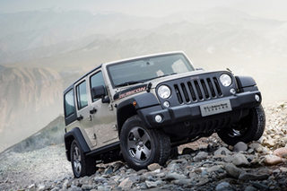 Jeep牧马人十年限量版上市 售54.99万元