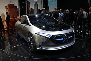 """奔驰的""""i3""""要来了 图解奔驰EQA概念车"""