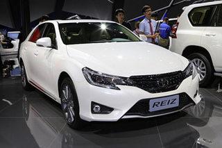 12年产量超52万 一汽丰田锐志正式停产