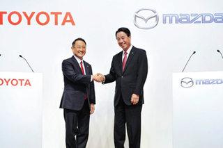 丰田马自达成立合资公司 研发电动汽车
