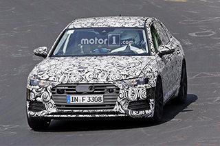 或搭V6发动机 新奥迪S6有望明年初发布