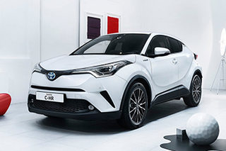 广汽丰田将投产C-HR 计划于2018年上市