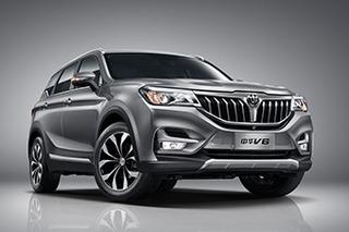 中华SUV家族规划曝光 V6将下月22日上市