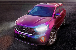 长安欧尚全新7座SUV官图发布 命名为COS1°