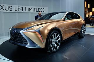 雷克萨斯LF-1 Limitless发布 公路SUV新旗舰