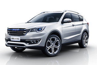 捷途首款SUV X70官图发布 将于4月亮相