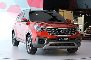 东风悦达起亚2018推7款新车 小SUV专供中国