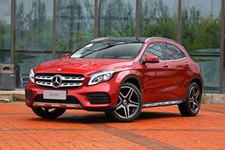 热门车型行情推荐 奔驰GLA级最高优惠6万元