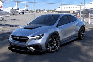 斯巴鲁新概念车今日发布 下一代旅行车雏形