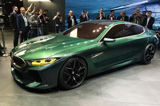 宝马M8 GC概念车正式亮相 百公里加速仅3秒