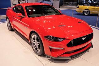福特新款Mustang北京车展亮相 搭10AT变速箱