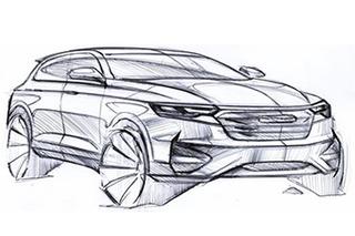 众泰全新SUV设计图首次曝光 有望年内推出