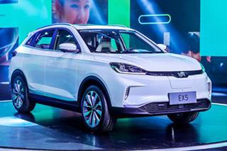 威马首款电动SUV于4月20日上市 续航达600km