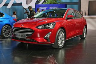 实拍福特全新福克斯 实力再提升/车型更丰富